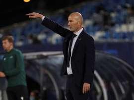 Zidane, el paciente francés. EFE/Juanjo Martín