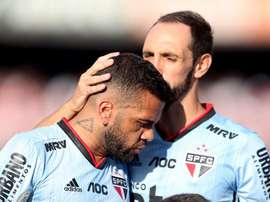 Juanfran está perto do fim de contato com o São Paulo. EFE/Fernando Bizerra Jr./Arquivo