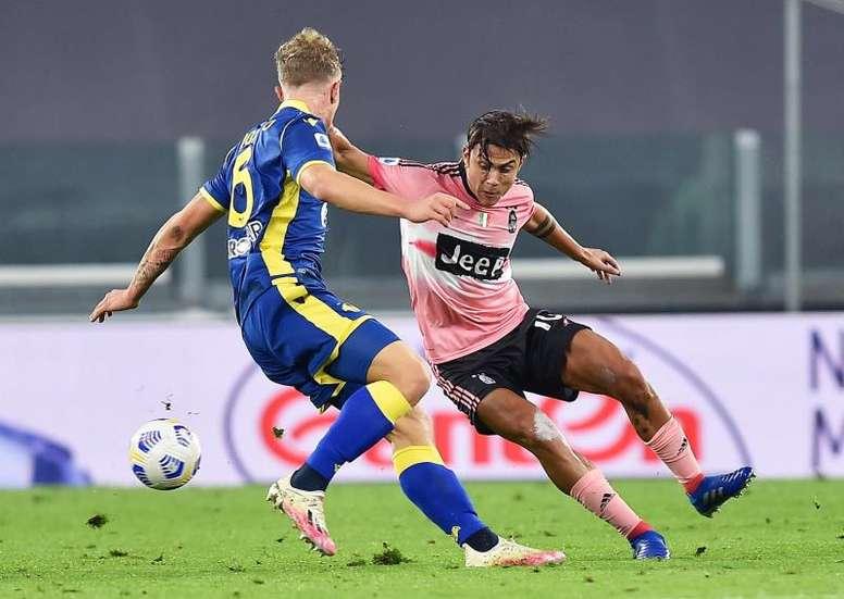 La Juventus pareggia contro il Verona. EFE