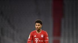 Gnabry, listo para reaparecer en el Bayern. EFE