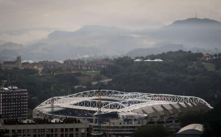 Real Sociedad v Napoli will be without fans. EFE
