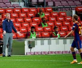 Ronald Koeman gave De Jong some interesting advice. EFE