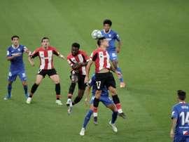 El Athletic, ante una nueva reválida en casa. EFE