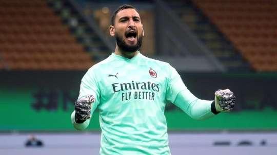 Donnarumma renovará com o Milan. EFE