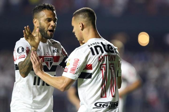 São Paulo vai pagar Daniel Alves em 60 meses a partir de 2022. EFE/ Thiago Bernardes