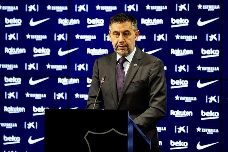 Barcelona have spent over a billion euros under Bartomeu. EFE