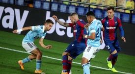 Levante y Celta empataron en el Ciutat de València. EFE/Domenech Castelló