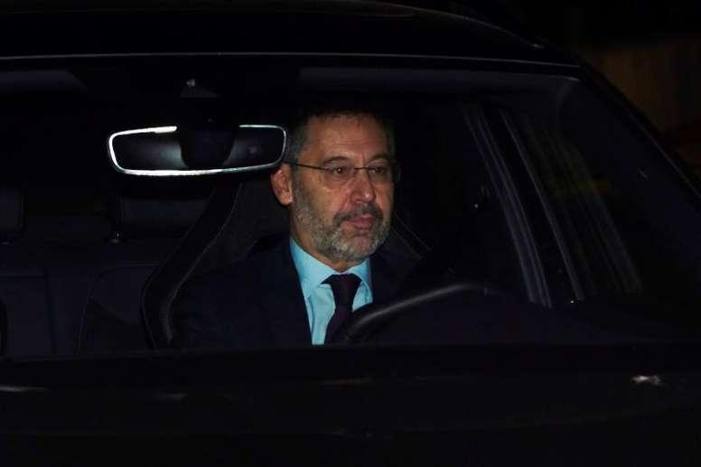 Laporta réagit à la démission de Bartomeu. EFE