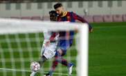 Pique (R) is one of Barca's best central defenders ever. EFE