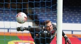 Adrián dio a entender que el Liverpool aún no se ha recuperado de la baja de Van Dijk. EFE
