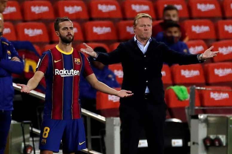 Pjanic, titular salvo sorpresa frente al Atleti. EFE/Archivo