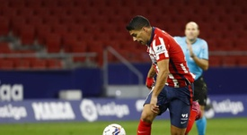 Suárez se quedó sin marcar ante el Bayern y también ante el Salzburgo. EFE