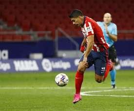 Luis Suárez soma sete partidas disputadas e quatro gols nesta temporada. EFE/Ballesteros/Arquivo