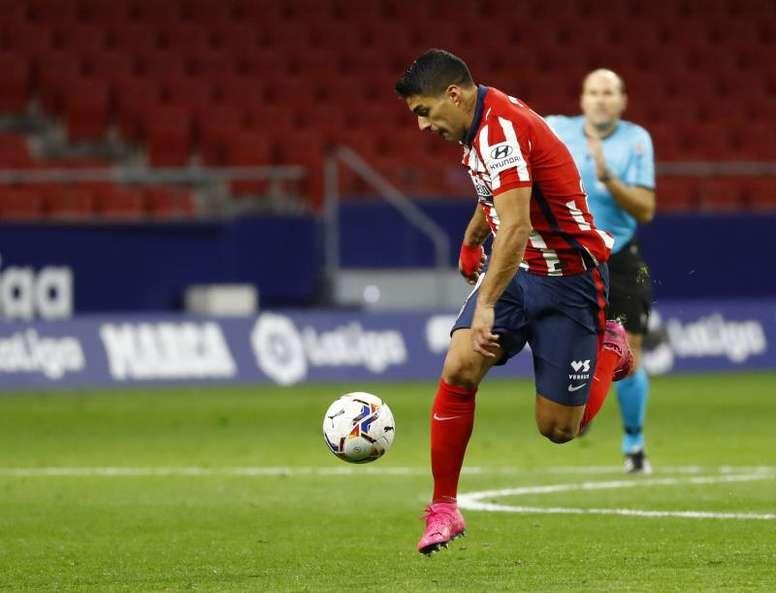 Suárez reaparecerá con el Atlético ante el Valladolid. EFE