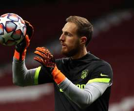 Oblak has only conceded two goals. EFE
