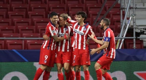 Atletico Madrid are much stronger in La Liga than in the Champions League. EFE