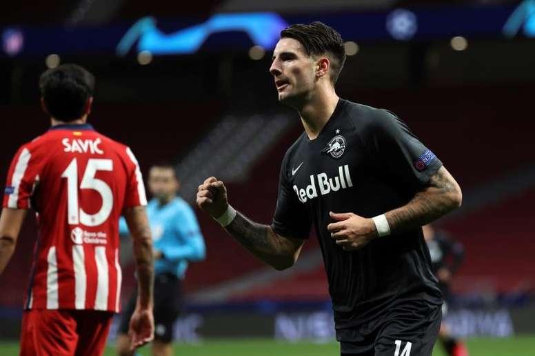 Arsenal have doubts about Szoboszlai. EFE