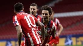 El Atlético de Madrid remontó ante el Salzburgo. EFE