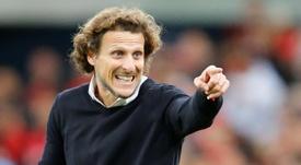 Forlán habló de los motivos de su salida de Peñarol. EFE/Hedeson Alves/Archivo