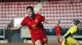 Eva Navarro podría reaparecer ante el Real Madrid Femenino. EFE