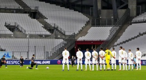 OM's game against Lens will be played at a later date. EFE