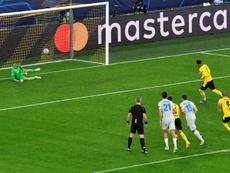 Sancho y Haaland sacan al Borussia de un apuro. EFE/Martin Meissner