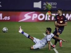 Osasuna solo ha ganado al Atlético una vez en la última década en El Sadar. EFE