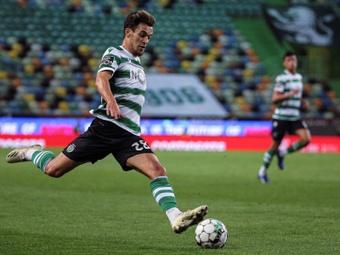 Sporting abre o Campeonato com golaços de Pote.AFP