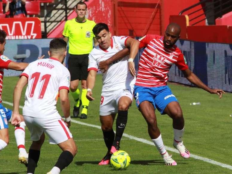 Foulquier tiene una lesión fibrilar y tampoco jugará ante el PAOK. EFE