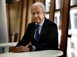 Carles Tusquets compareció tras la reunión de la Gestora. EFE