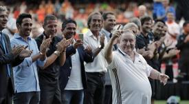 Un gran homenaje para Españeta. EFE