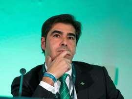 El presidente del Betis criticó la iniciativa de la Superliga. EFE