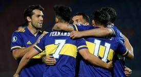 Boca es uno de los candidatos a ganar esta temporada en Argentina. EFE/Archivo