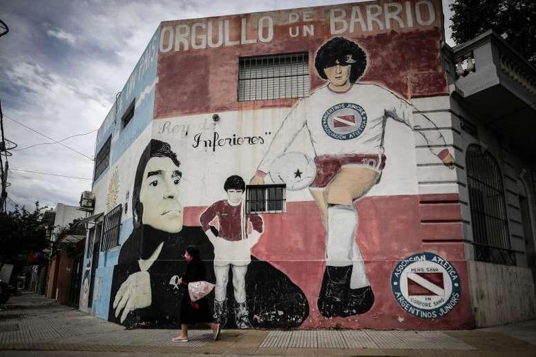 Maradona scompare all'età di 60 anni. EFE