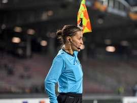 L'arbitre Guadalupe Porras entre dans l'histoire du football espagnol. EFE