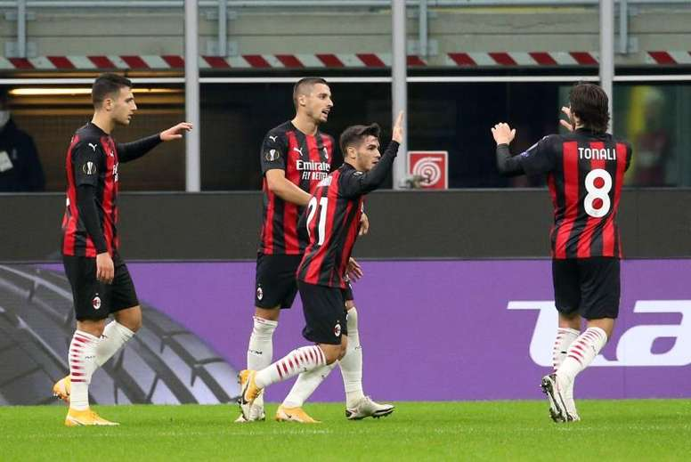 Il Milan supera lo Sparta. AFP