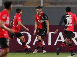 Bahía tendrá que remontar el gol en contra en el encuentro de vuelta. EFE