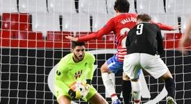 El Granada sufrió, pero sumó un importante punto ante el PAOK. EFE