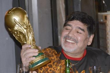 Maradona completa 60 anos. EFE/Juan Carlos Cruz/Arquivo