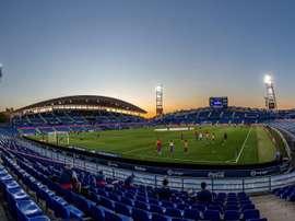 El Getafe se asegura jugar en el Coliseum los próximos 40 años. EFE