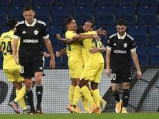 Al Villarreal le sonríen los resultados. EFE
