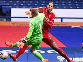 Virgil van Dijk player of Liverpool. EFE