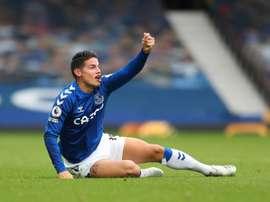 James não disputará a partida da sétima rodada da Premier League. EFE/EPA/Cath Ivill /Arquivo