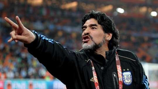 Diego Armando Maradona ha cumplido 60 años. EFE/Archivo