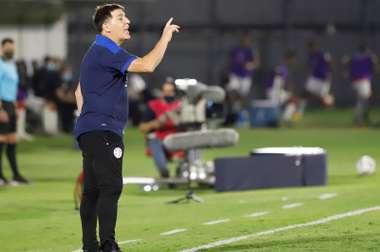 Berizzo ya tiene la lista para enfrentarse a Argentina y Bolivia. EFE/Archivo