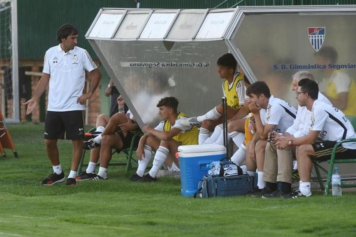 Xavi Sintes lleva dos temporadas en la capital española. EFE