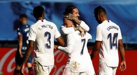 El Real Madrid se impuso sin grandes problemas. EFE