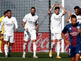 Il Real Madrid vince contro il Huesca. EFE
