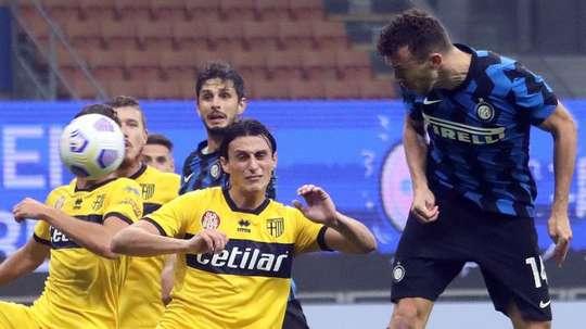 L'Inter pareggia contro il Parma. AFP
