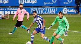 El Barça volvió a tropezar en Liga. EFE
